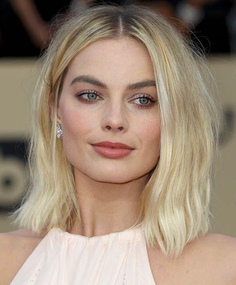 Короткие стрижки Блонд 2019 (34)