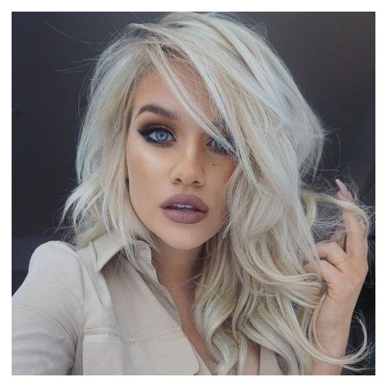 Короткие стрижки Блонд 2019 (11)