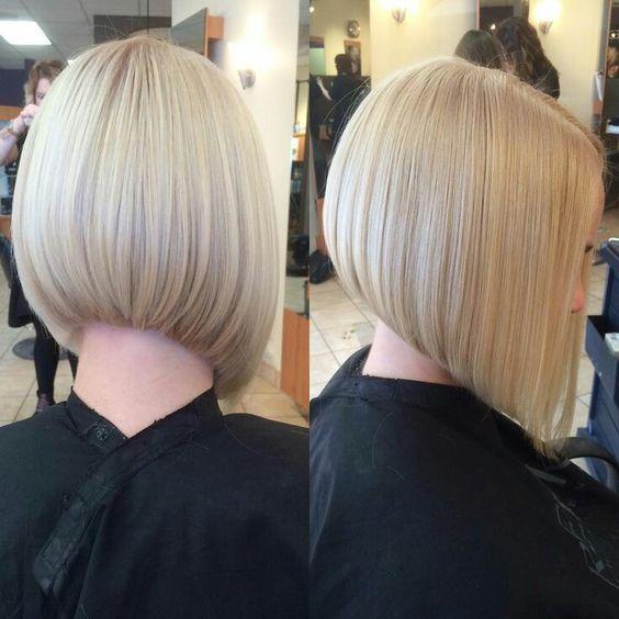 Короткие стрижки Блонд 2019 (21)
