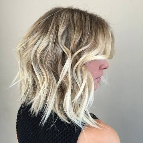 Короткие стрижки Блонд 2019 (20)