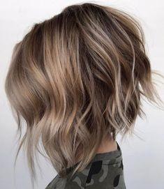 Стрижки на на средние волосы 2020 (59)
