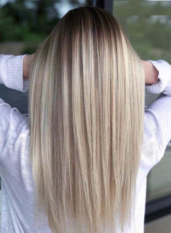 Стрижки для длинных волос 2020 фото новинки (14)