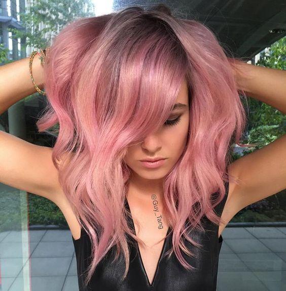 Стрижки на на средние волосы 2020 (15)