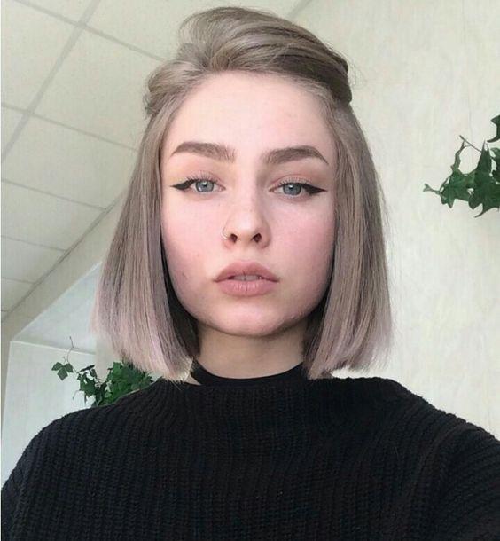 Стрижки на на средние волосы 2020 (64)