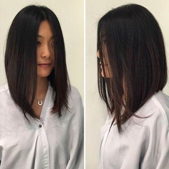 Стрижки на на средние волосы 2020 (4)