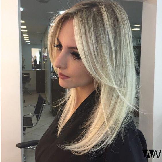 Стрижки на на средние волосы 2020 (76)