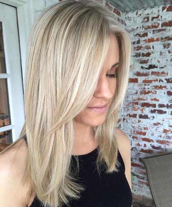 Стрижки на на средние волосы 2020 (68)
