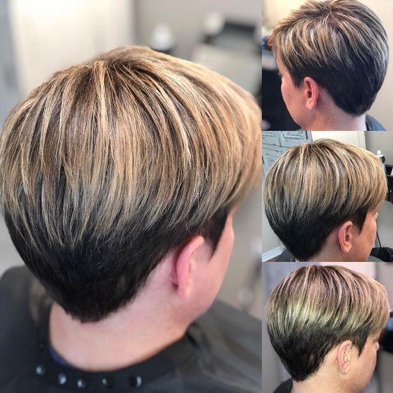 Окрашивание коротких волос 2020