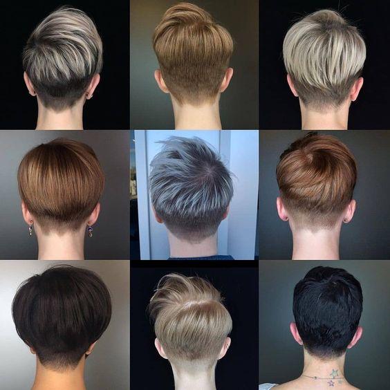 Окрашивание коротких волос 2020 (57)