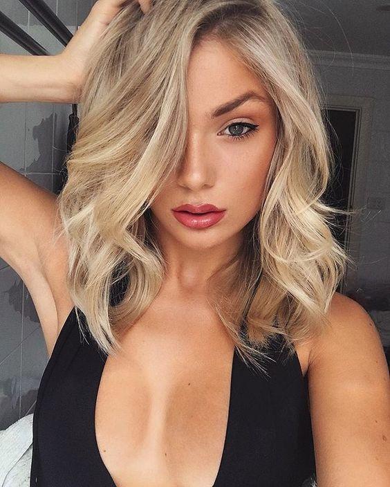 Окрашивание коротких волос 2020 (56)
