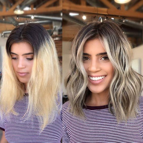 Мелирование волос 2020