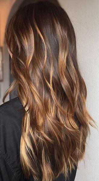 Мелирование на темные волосы 2020 (77)
