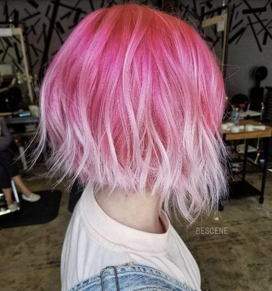 Мелирование на волосы средней длины (7)