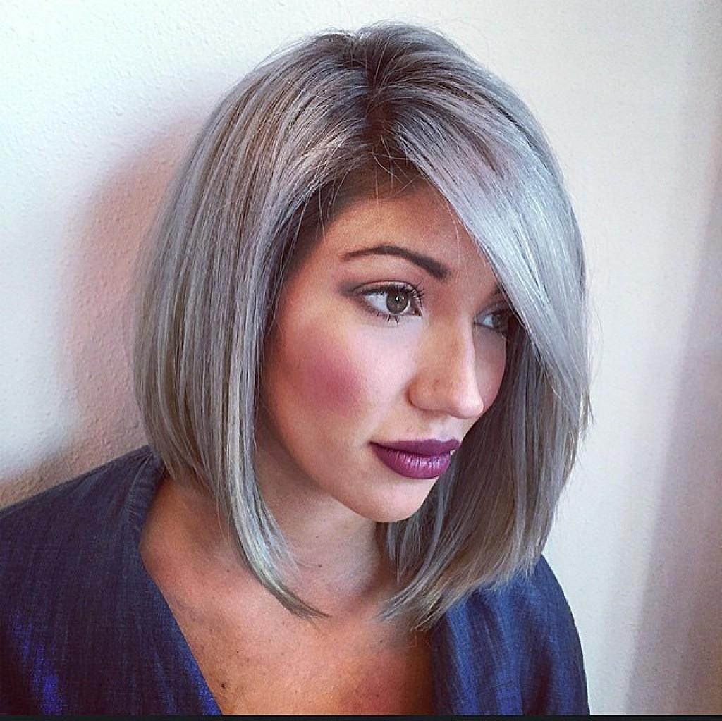 Мелирование на волосы средней длины (34)