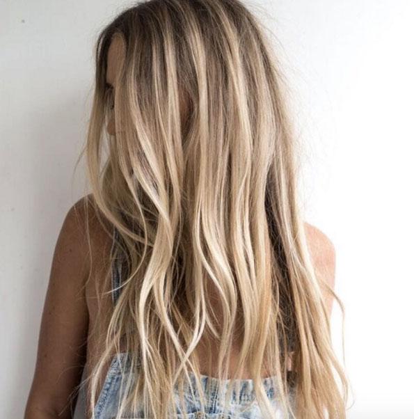 Мелирование на волосы средней длины (5)