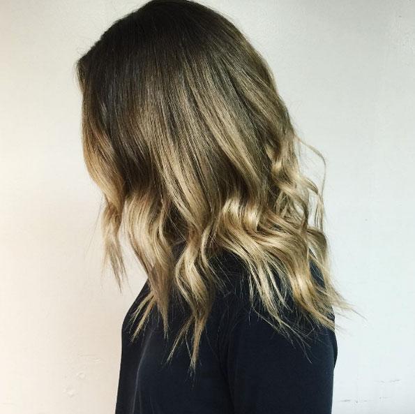 Мелирование на волосы средней длины (4)
