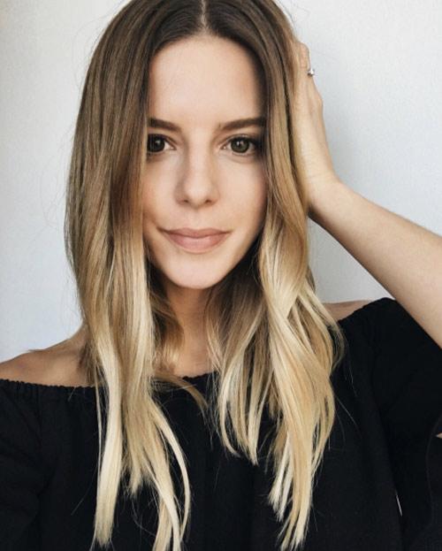 Мелирование на волосы средней длины (2)