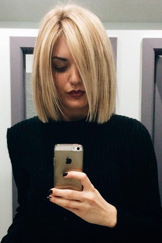Мелирование на волосы средней длины (8)