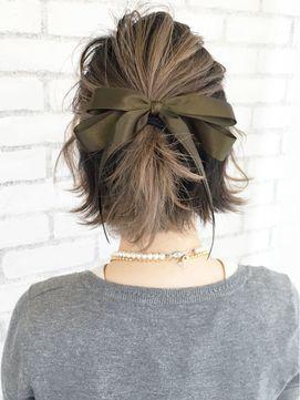 Мелирование на волосы средней длины (14)