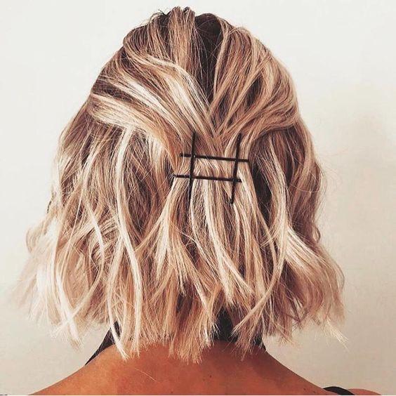 Мелирование на волосы средней длины (74)
