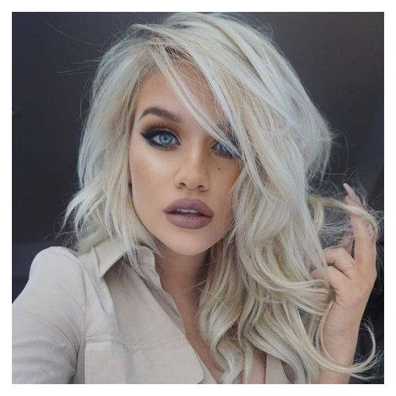 Мелирование на волосы средней длины (11)