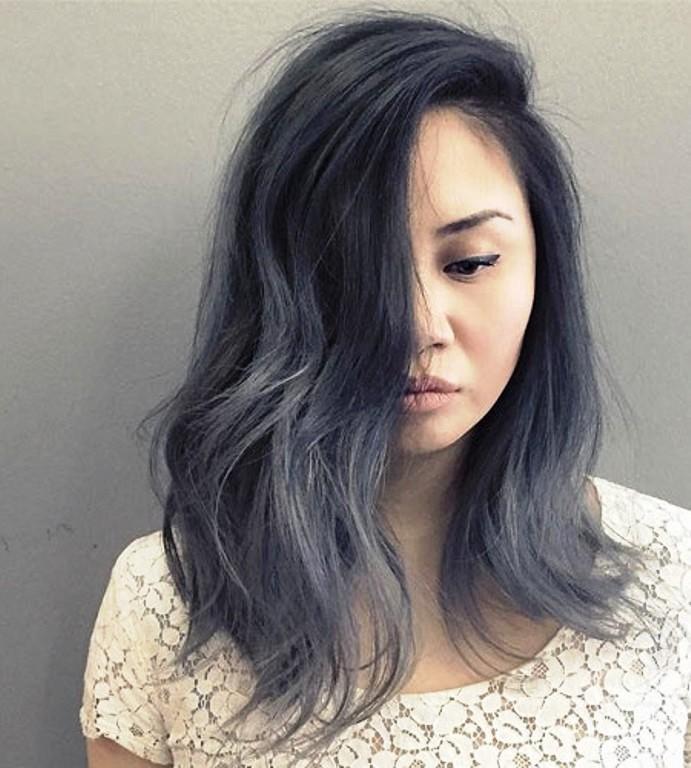 Мелирование на волосы средней длины (31)