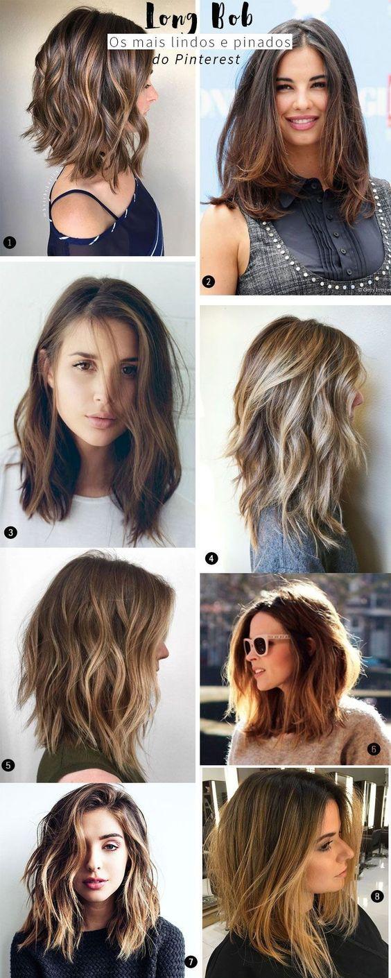 Мелирование на волосы средней длины (68)