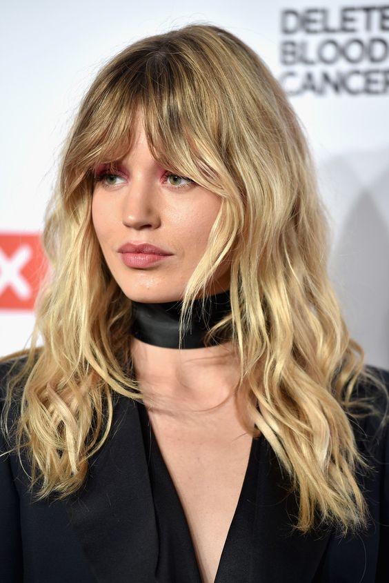 Мелирование на волосы средней длины (38)
