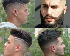 Мужские стрижки волос 2020