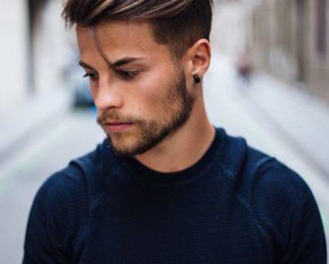 Стрижка мужская молодежная 2020 (19)