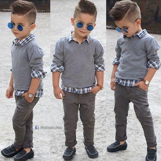 Модные причёски для мальчиков 2020. (12)