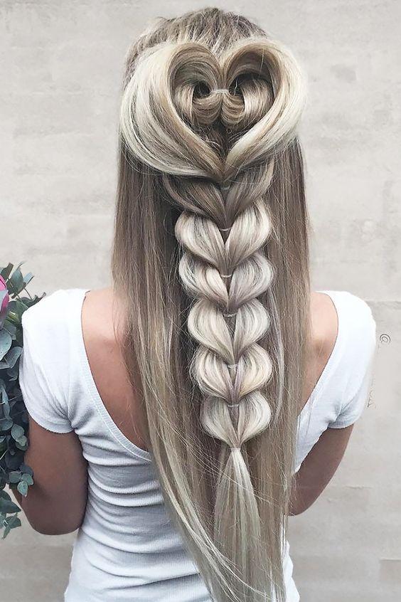 Причёски на выпускной 2020 для средней длины волос (36)