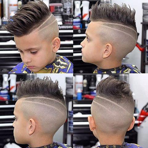 Модные причёски для мальчиков 2020. (13)