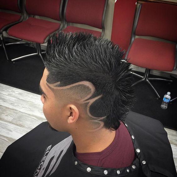 Модные причёски для мальчиков 2020. (26)