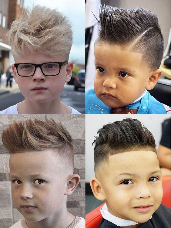 Модные причёски для мальчиков 2020. (21)