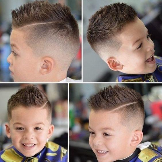 Модные причёски для мальчиков 2020. (20)