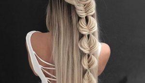 Причёски на выпускной 2020 для средней длины волос (27)