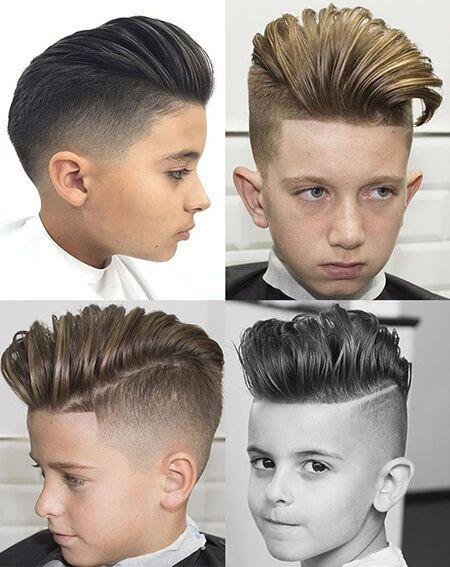 Модные причёски для мальчиков 2020. (2)